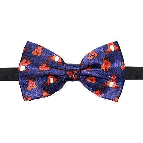 Christmas Novelty Bow Tie - Rudolf Reindeer