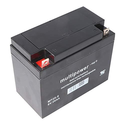 Multipower Bleiakku MP20-6 (6V / 20 Ah), wartungsfrei