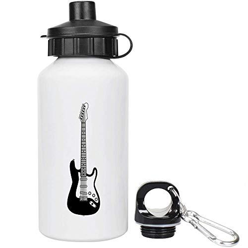 Azeeda 400ml 'Guitarra Eléctrica' Agua Reutilizable/Bebidas...