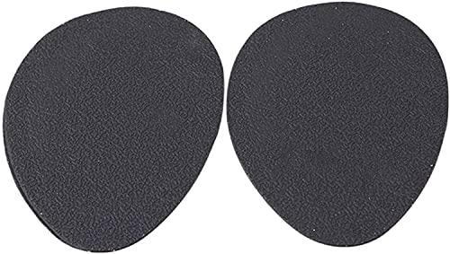 Almohadilla protectora antideslizante autoadhesiva negra de la suela del alto talón de la etiqueta engomada duradera