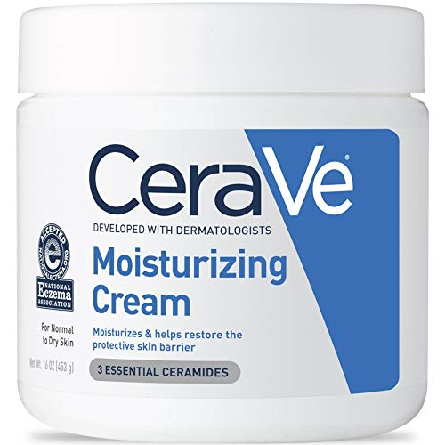 CeraVe Moisturizing Cream, 16 Ounce (Pack of 6)