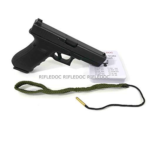ZEITWISE Pistooli Boresnake für Pistole Revolver Cal .38│9 mm Bore Snake Reinigungsschnur
