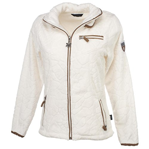 SD Best selection - Insbruck Blanc Lady - Vestes Polaire - Blanc - Taille L