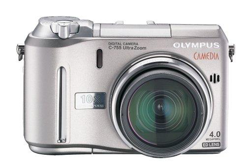 Olympus Camedia C755 4MP Digital Camera with 10x Optical Zoom