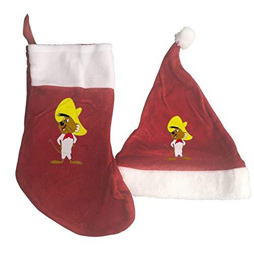 AAAshorts Speedy Gon-zales - Juego de calcetines de Navidad...