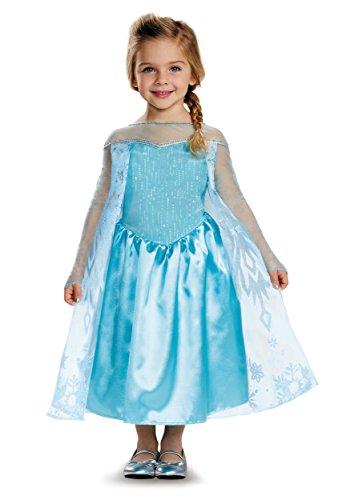 Frozen Elsa Classic Toddler Costume 3T/4T Blue