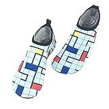 Demarkt - Zapatillas de natación para hombre y mujer, secado rápido, unisex, para playa, acuario, surf, yoga, lago o playa carbón 40/41