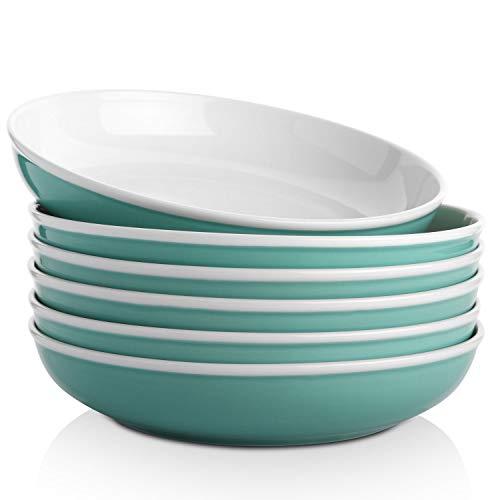 SAMSLE Pasta Bowls 30 Ounces, Ceramic