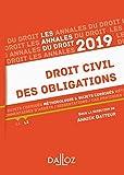 Annales Droit civil des obligations 2019 - Méthodologie & sujets corrigés