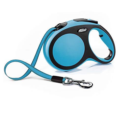 flexi New Comfort L Gurt 8 m blau für Hunde bis 50 kg
