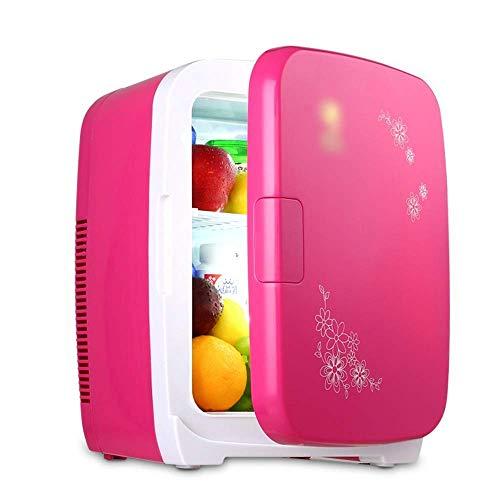 Enfriador y calentador eléctrico para oficina, dormitorio universitario, dormitorio y apartamento, frigorífico de compresor pequeño, frigorífico de coche de 15 l, minirefrigerador portátil, enfriador