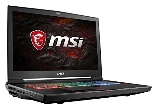 MSI GT73VR 7RF-296 Titan Pro (43,9 cm/17,3 Zoll) Gaming-Laptop (Intel Core i7-7820HK, 32GB RAM, 1 TB HDD + 512 GB SSD, Nvidia GeForce GTX 1080, Windows 10 Home) schwarz GT73