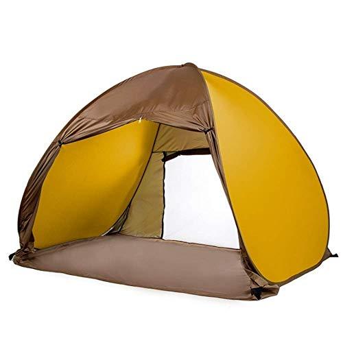 NDYD Portátil 3-4 Mochila Tienda Camping Tienda Tienda Tierra Sports al Aire Libre Senderismo Viaje Playa 200 * 150 * 130cm DSB