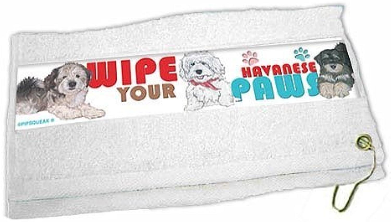 Havanese Paw Wipe Towel by Pipsqueak