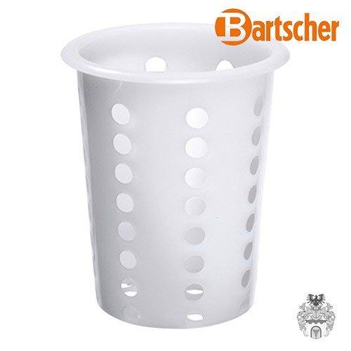 BARTSCHER Besteckköcher weiß, Kunststoff