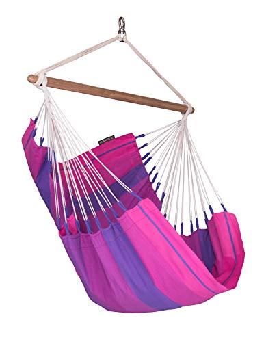 LA SIESTA - Orquidea Purple - Hängestuhl Basic aus Baumwolle