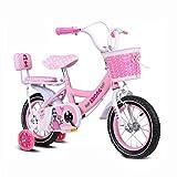 Girls Bike, 12 14 16 18 Inch Kids Bike with Training Wheels