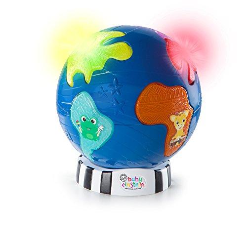 Baby eensteen, wereldbol met lampen en 12 klassieke melodieën, te gebruiken in de speel- of lichtmodus.