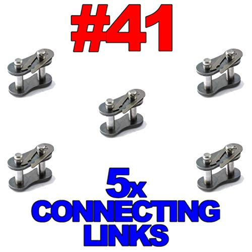 #41 Roller Chain Connecting Links (5 Pack)