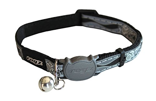 Rogz Reflective Cat Collar with Breakaway Clip and...