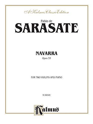 Navarra, Op. 33 (Kalmus String Series)