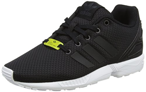 adidas ZX Flux, Scarpe da Ginnastica Basse Unisex-Bambini, Nero (Core Black/Core Black/Footwear White), 28 EU