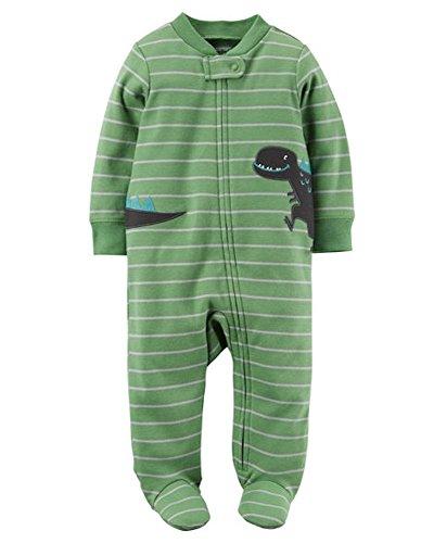 Carter's Pijama para bebés varones Preemie Verde