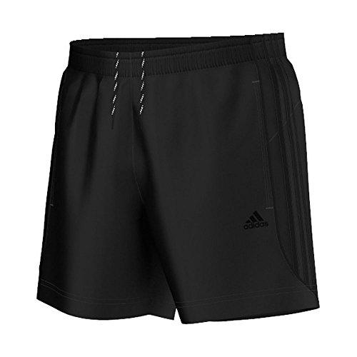 adidas Herren Trainingsshorts Sport Essentials 3-Streifen Chelsea, schwarz, S, S17881