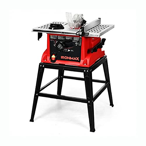 HomyDelight Tool Accessory, 10†Aluminum Tabletop Table Saw Electric Cutting Machine