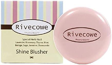 Rivecowe Shine Blusher -No.1 Shine Pink 7g