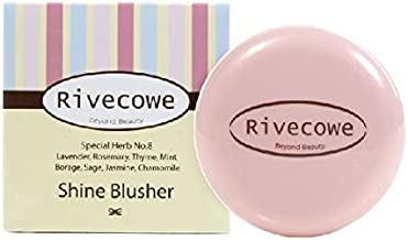 Rivecowe Shine Blusher -No.3 Shine Coral 7g