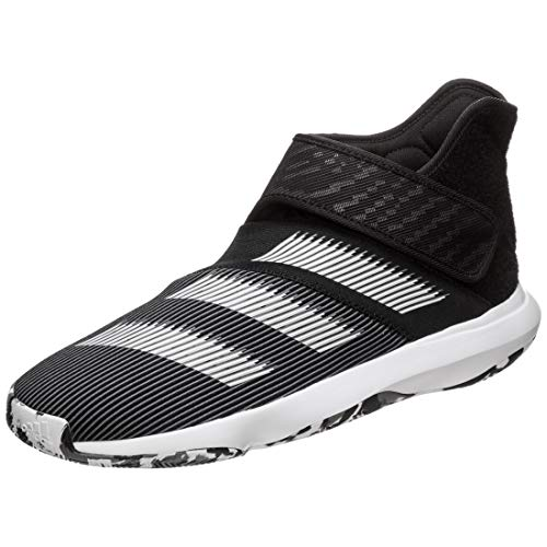 Adidas Harden B/E 3, Zapatillas de Baloncesto Hombre, Noir Blanc Gris Foncã, 47 1/3 EU