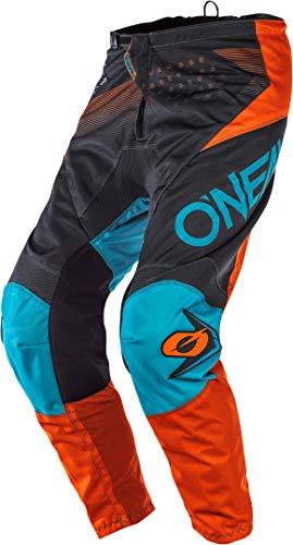 O'Neal Kinder Motocross Hose Element Factor Youth, Grau Orange, 20, E010