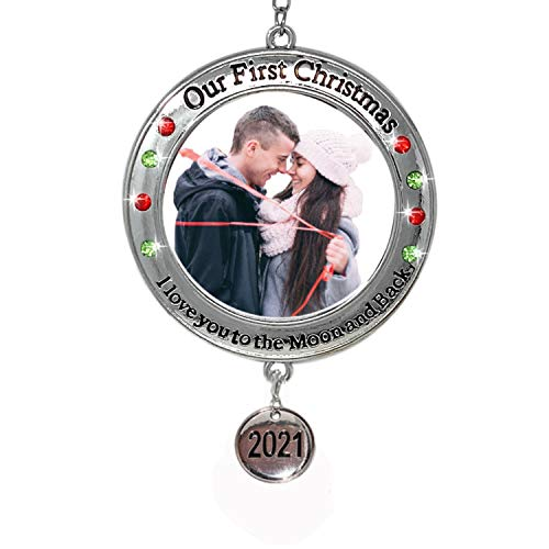 BANBERRY DESIGNS 2021 Our First Christmas Ornament - 1st Xmas Ornament Picture Opening - I Love You to The Moon and Back