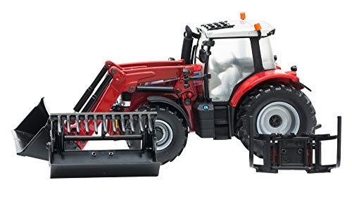 Tomy 43082 - Britains Massey Ferguson 6616 Traktor mit Frontlader