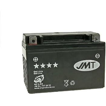 inkl 1992 7,50 EUR Batteriepfand Batterie JMT Gel JMTX9-BS f/ür Suzuki GSF 400 Bandit Bj