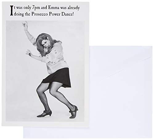 Verjaardagskaart voor haar, verjaardagswenskaart, macht, verjaardag, wenskaart, 124x176mm, Prosecco-kaart