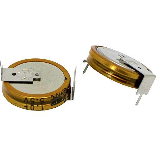 Korchip DCS5R5104HF Doppelschicht-Kondensator 0.1 F 5.5 V (Ø x H) 11.5 mm x 5.5 mm 1 St.