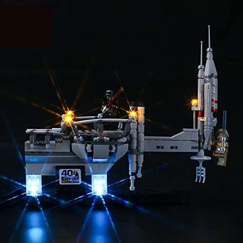 Kit De Iluminación Led para Lego Star Wars Bespin Cloud City Duel, Compatible con Ladrillos De Construcción Lego Modelo 75294 (Juego De Legos No Incluido)