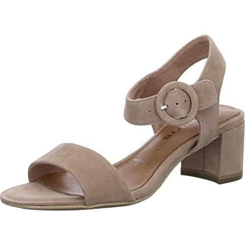 Tamaris 1-1-28324-24 558 dames open sandalen met sleehak