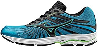 MIZUNO J1GC163010 Wave Sayonara Men's Running Shoes, Blue/Black