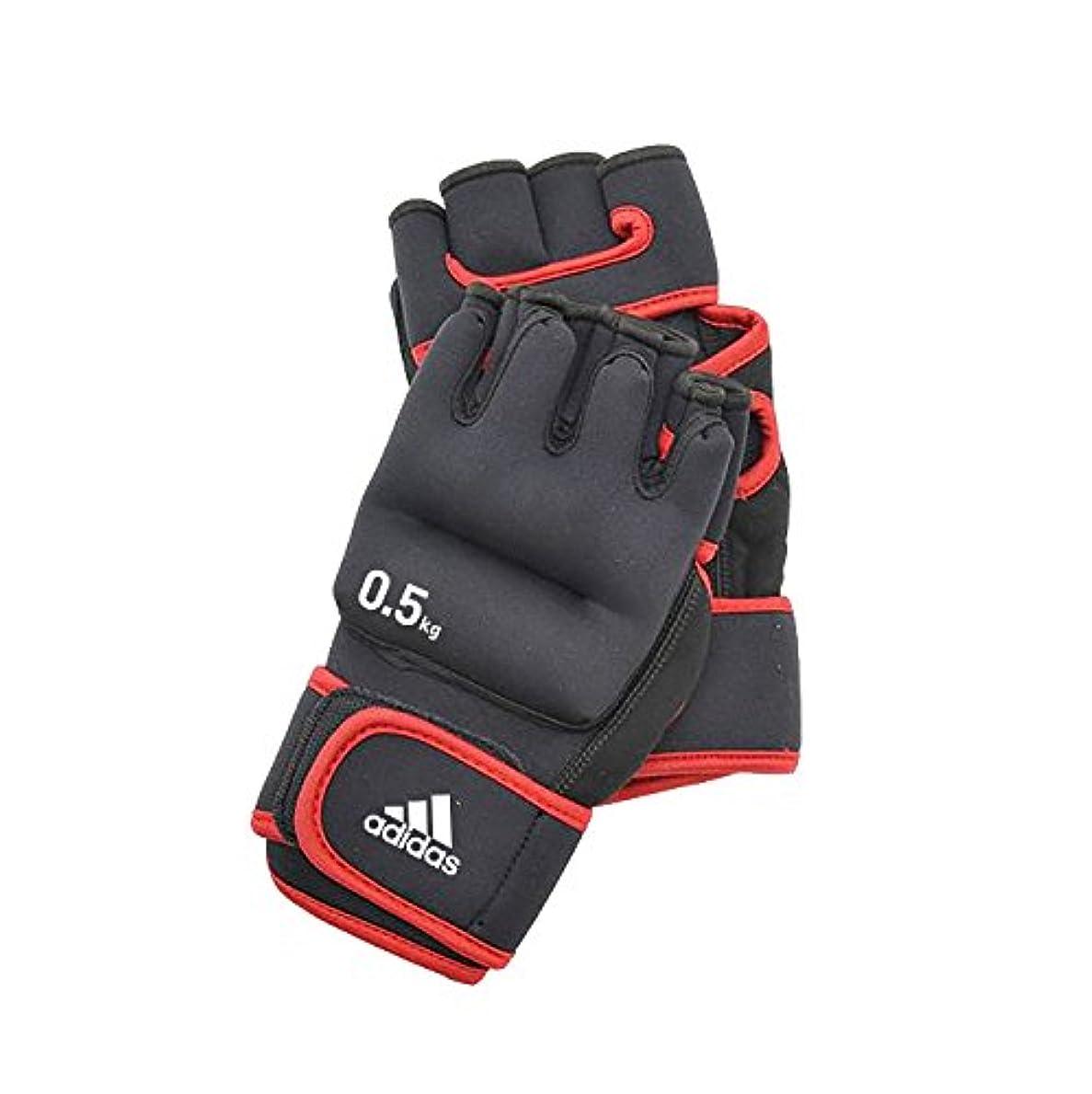 ブルゴーニュ雑草状アディダス(Adidas) トレーニング ウエイト グローブ ADWT-10702