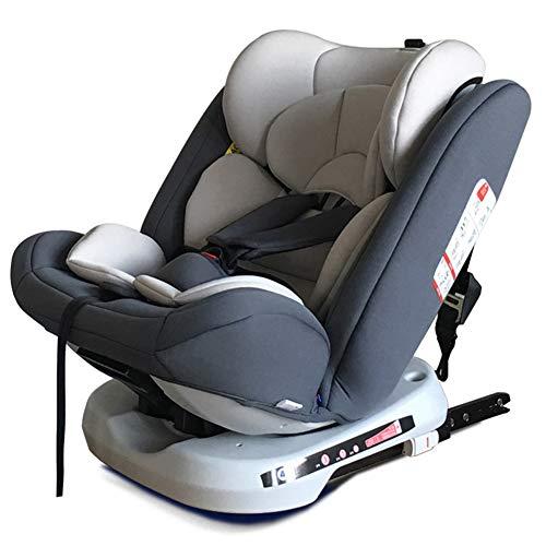 PTHZ El Asiento del automóvil Puede Ajustar el Asiento para niños, y el Asiento para niños del automóvil está Instalado en la dirección Delantera y inversa,Dark Gray