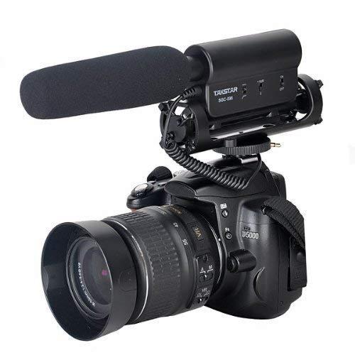 TAKSTAR SGC-598 Micrófono Cámara para entrevistas Microfono Escopeta Microfono...