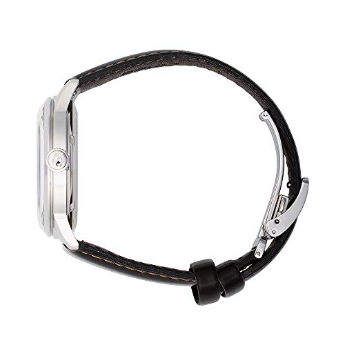 Seiko presage Mens Analog Automatic Watch with Leather Bracelet SRPD37J1