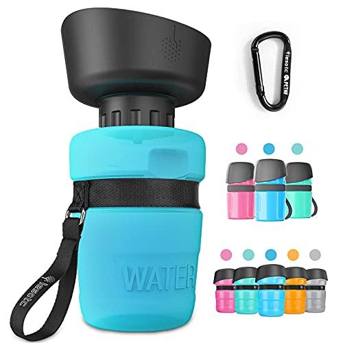 lesotc Pet Water Bottle for Dogs, Dog Water Bottle Foldable