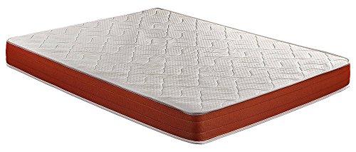 Colchón viscoelástico, 135 x 190 x 18 cm, alta densidad, máxima ventilación, antiácaros - SmartCell Visco (Otras medidas disponibles)