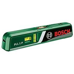 Bosch Laser Water Scale PLL 1 P (obszar roboczy linii lasera 5 m, obszar roboczy laser punkt 20 m, w kartonie)