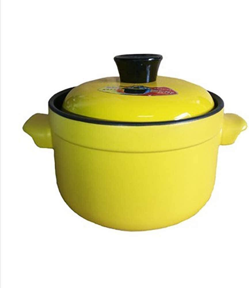 Clay Pot Clearance SALE Limited time for Cooking Round Monochrome Ceramic Soup Import Non-Stick