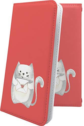 スマートフォンケース・ALCATEL ONETOUCH IDOL 3・互換 スマートフォンケース・手帳型 動物 動物柄 アニマル どうぶつ ねこ 猫 猫柄 にゃー アルカテル ワンタッチ アイドル キャラクター キャラ キャラスマートフォンケース・onetouchidol3 ロゴ ワンポイント ロゴ入り [h2h16518jX7]